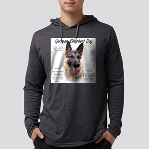 GSD Mens Hooded Shirt