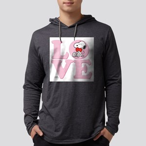 LOVE - Snoopy Mens Hooded Shirt