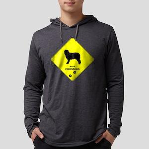crossing-132 Mens Hooded Shirt