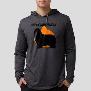 pumpkin-116 Mens Hooded Shirt