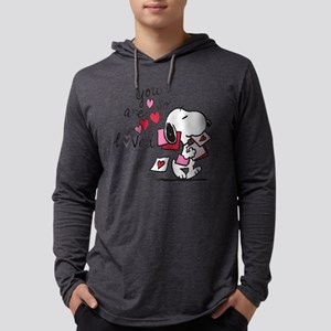 Snoopy - You Are So Loved Mens Hooded Shirt
