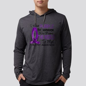 D Means The World To Me Epilepsy Mens Hooded Shirt