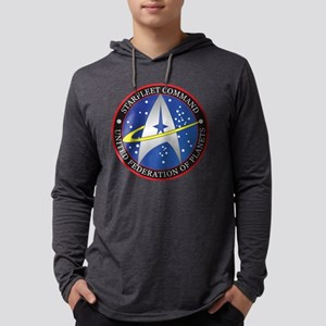 StarfleetCommand Mens Hooded Shirt