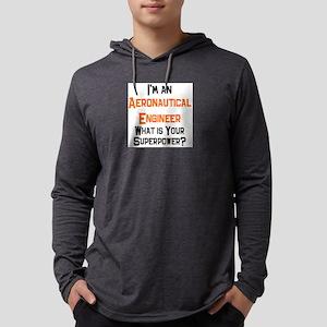 aeronautical engineer Mens Hooded Shirt