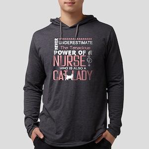 A Nurse T Shirt, Cat Lady T Sh Long Sleeve T-Shirt