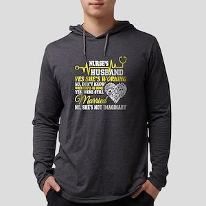 Nurse's Husband T Shirt, I'M A Mens Hooded Shirt