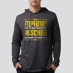 Stepfather Here To Help You Ge Long Sleeve T-Shirt
