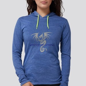 Winter is coming Womens Hooded Shirt