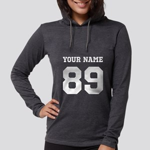 Custom Name and Number Long Sleeve T-Shirt