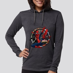 Web Warriors Spider-Girl Womens Hooded Shirt