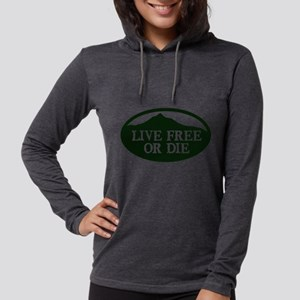Live Free or Die Womens Hooded Shirt