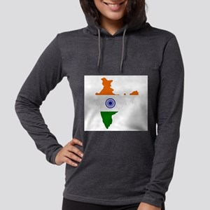 india map Long Sleeve T-Shirt