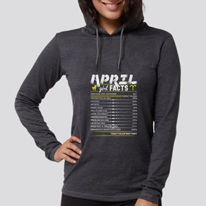 April Girl Facts Aries Long Sleeve T-Shirt
