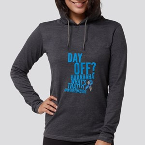 8f484b5d Diabetes never takes a day off Long Sleeve T-Shirt