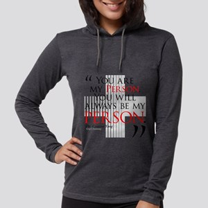 You Are My Person Womens Hooded Shirt