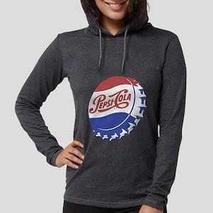 Pepsi Bottle Cap Womens Hooded Shirt