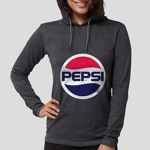 Pepsi 90s Logo Womens Hooded Shirt