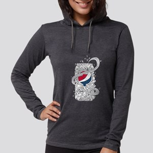 Pepsi Can Doodle Womens Hooded Shirt