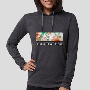 Alpha Epsilon Phi Floral Perso Womens Hooded Shirt