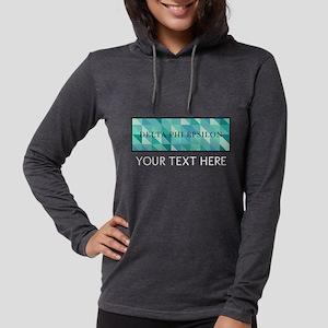 Delta Phi Epsilon Geometric Pe Womens Hooded Shirt