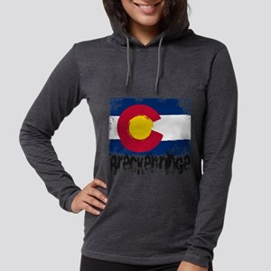 Breckenridge Grunge Flag Long Sleeve T-Shirt