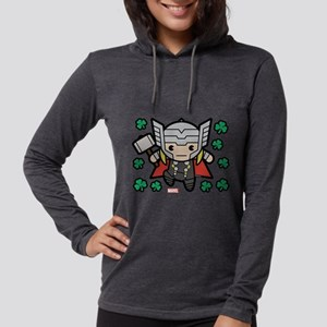 Thor Clovers Womens Hooded Shirt