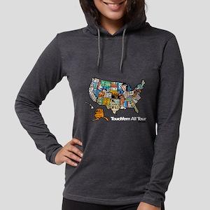 TouchemAllTee-F USMapPlates Long Sleeve T-Shirt