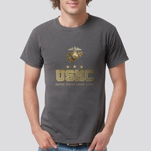 USMC Eagle Globe Anchor Mens Comfort Colors Shirt