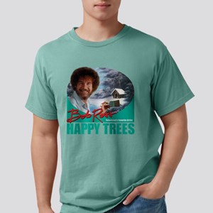 DarkSweatshirt_HappyTrees_PaintHandleGreen T-Shirt