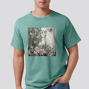 Flowers Painting Mens Comfort Colors Shirt