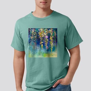 Floral Painting Mens Comfort Colors Shirt