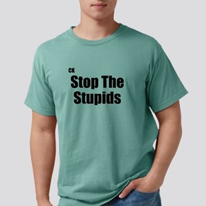 Stop The Stupid Yellow T-Shirt