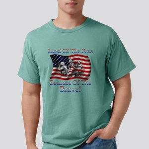 e443fd251 Land Of The Free Mens Comfort Colors Shirt