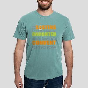 1406ac12 Date my daughter Mens Comfort Colors Shirt
