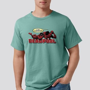 Deadpool Awesome Mens Comfort Colors Shirt