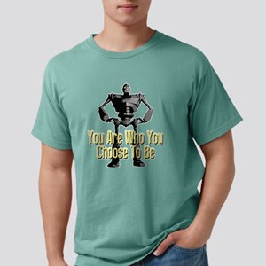 Iron Giant: Chose To Be  Mens Comfort Colors Shirt