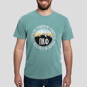 Pi Kappa Phi Mountain Mens Comfort Color T-Shirts