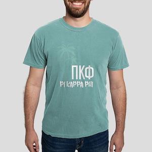 Pi Kappa Phi Palm Tree Mens Comfort Color T-Shirts
