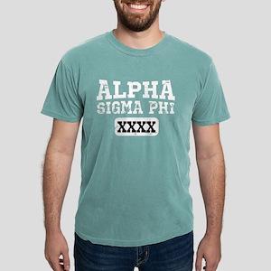 Alpha Sigma Phi Athletic Mens Comfort Colors Shirt