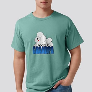 White Poodle Grandpa T-Shirt
