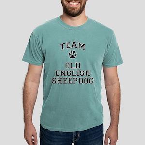 Team Old English Sheepdog Mens Comfort Colors Shir