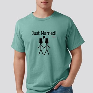 Just Married Gay Marriage T-Shirt