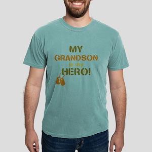 Dog Tag Hero Grandson Mens Comfort Colors Shirt