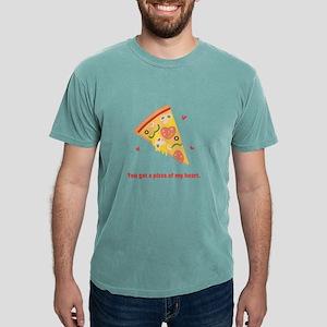 Yummy Pizza Heart Pun Humor T-Shirt