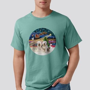 Xmas Magic - Old English Mens Comfort Colors Shirt