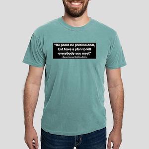 Mad Dog Quote Women's Dark T-Shirt