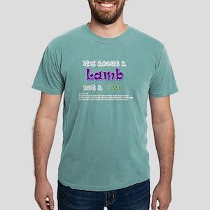 It's about a Lamb Women's Dark T-Shirt