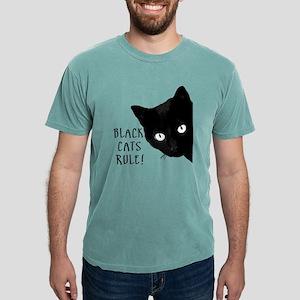 Black cats rule Mens Comfort Colors® Shirt