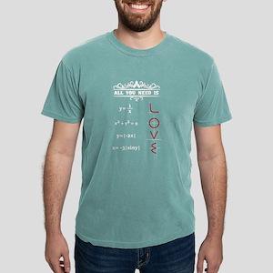 All You Need Is Love Math Teacher T-Shirt