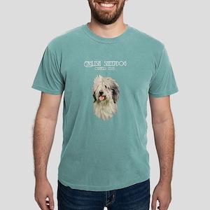 English Sheepdog Mens Comfort Colors Shirt